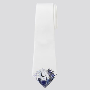 Horse ying yang coloured Neck Tie