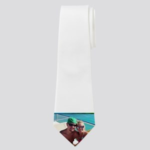 Casey and Aubrey vacation Neck Tie