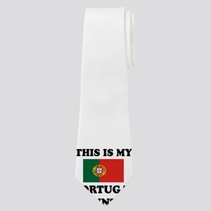 This Is My Portugal Country Neck Tie