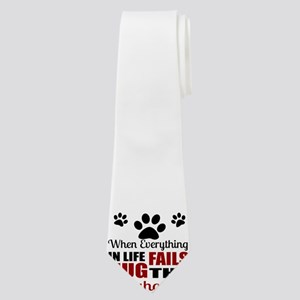 Hug The Greyhound Neck Tie
