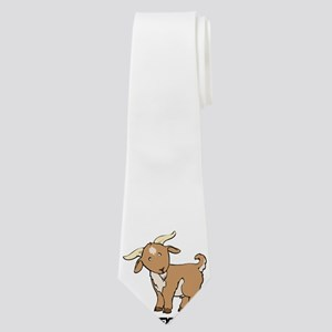 Custom Goat Baby Face Neck Tie