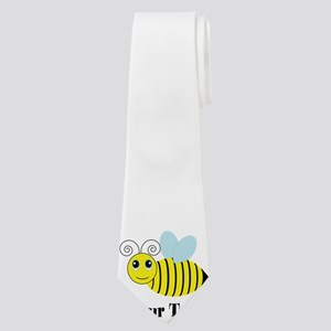 Personalizable Honey Bee Neck Tie