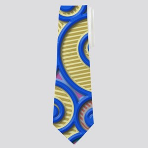 Deep Set Neck Tie
