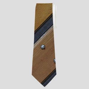 Nailed Wood Neck Tie