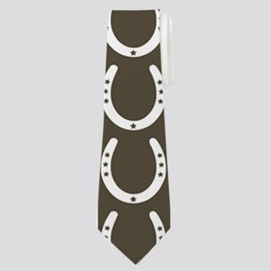 Horseshoe Pattern Neck Tie