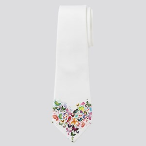 Heart of Butterflies Neck Tie