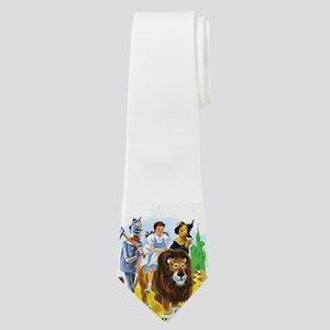 Wizard of Oz - Follow the Yellow Brick Ro Neck Tie