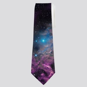 Flaming Star Nebula Neck Tie