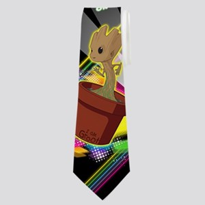 GOTG Get Your Groot On Neck Tie