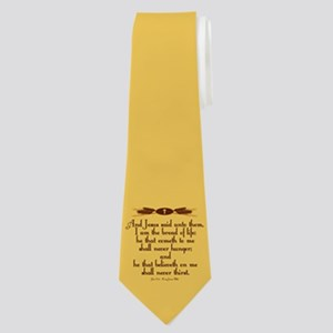 John 6:35 Wheat Neck Tie