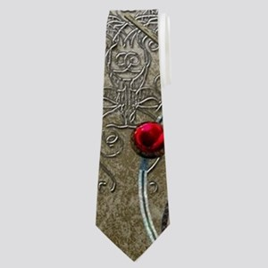 Steampunk, clocks and gears Neck Tie