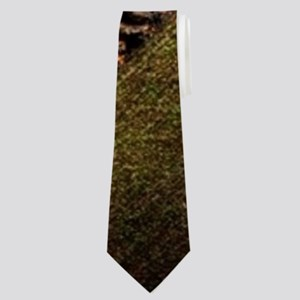 autumn landscape country turkey Neck Tie