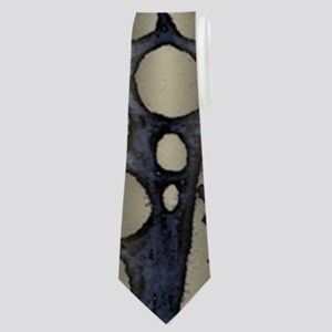 Blue Black Gold Silver Celtic Knot Neck Tie