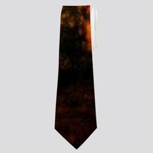 autumn hunting pointer dog Neck Tie
