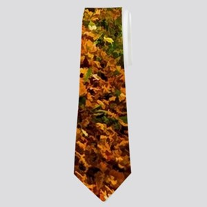 Autumn Road Neck Tie