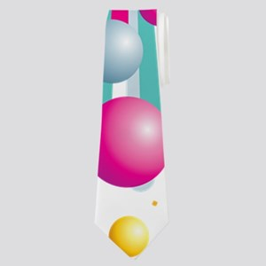 Colored Balls Neck Tie