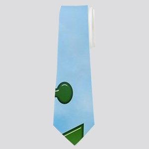 jesus anchor Neck Tie