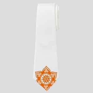 Triple Goddess Lotus Love 04 Neck Tie