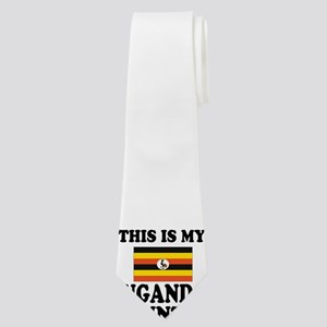 This Is My Uganda Country Neck Tie