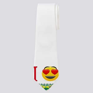 I love Jamaica Neck Tie