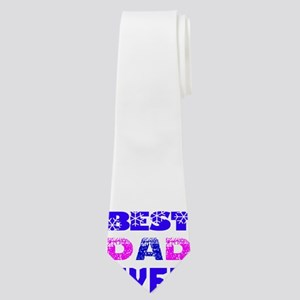 Best Dad Ever Designs Neck Tie