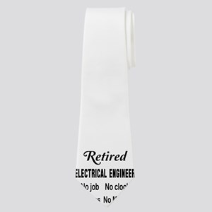 Retired Electrical engineer Neck Tie