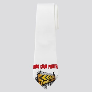 Wing Chun Fighter Fighter Under Construct Neck Tie