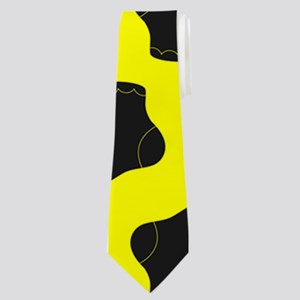 Yellow and Black Cute Little baby Socks P Neck Tie