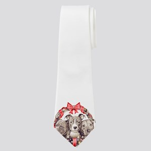 It's a Pit Bull Christmas Neck Tie