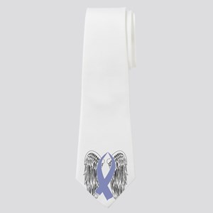 Winged Awareness Ribbon (Periwinkle) Neck Tie
