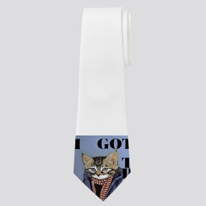 I GOT THIS(YUPPIE CAT) Neck Tie