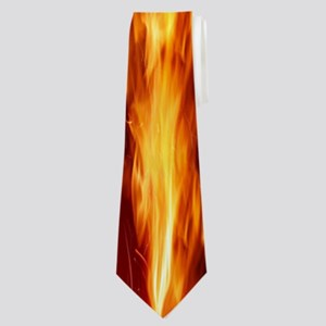 Hot Flames Neck Tie