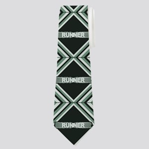 Runner Repeat Neck Tie