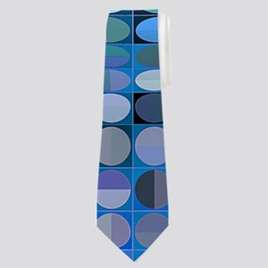 Optical Illusion Sphere - Blue Neck Tie