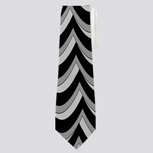 Thunderstorm Chevron Neck Tie