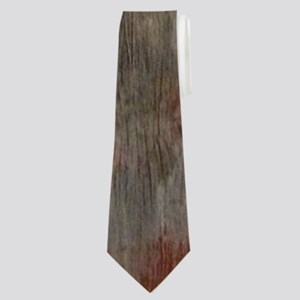 rustic western barn wood Neck Tie