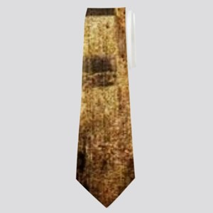 western country red barn Neck Tie