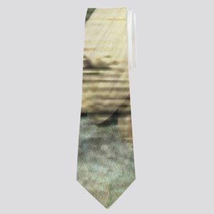 shabby chic country daisy Neck Tie