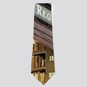 Classic Literary Library Books Neck Tie