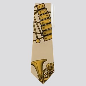 01cb3663bb1e Musical Instruments Notes Neck Ties - CafePress