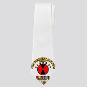 Just Cause - 7th Infantry Division w Svc Neck Tie