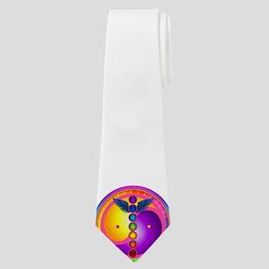 chakra_mandala Neck Tie