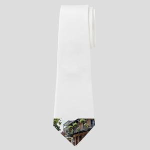French Quarter Street Neck Tie