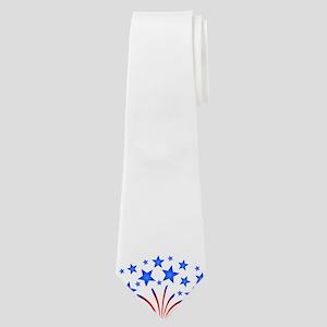 Stars & Stripes 4th of July Neck Tie