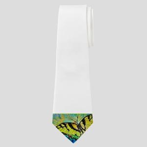 Butterfly! Swallowtail butterfly, art! Neck Tie