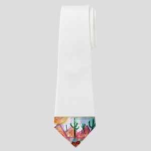 Desert! Southwest art! Neck Tie