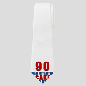 90 Another Cake Under My Belt Neck Tie