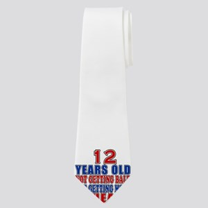 12 Getting More Ahead Birthday Neck Tie