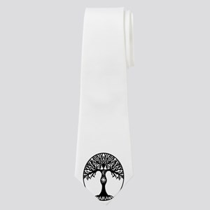 Pagan Goddess Tree Neck Tie