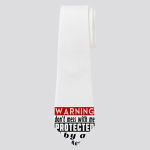 Protected By Saint Bernard Neck Tie